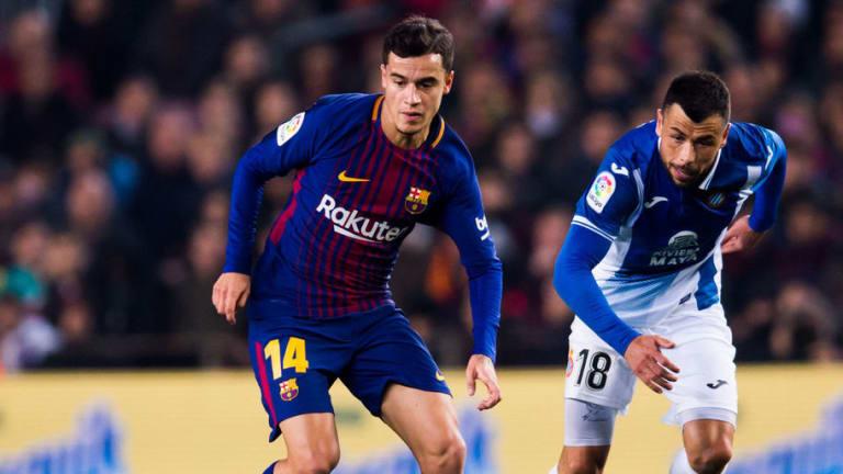 Barcelona Coach Valverde Has 'High Hopes' for Coutinho Following Copa del Rey Derby Debut