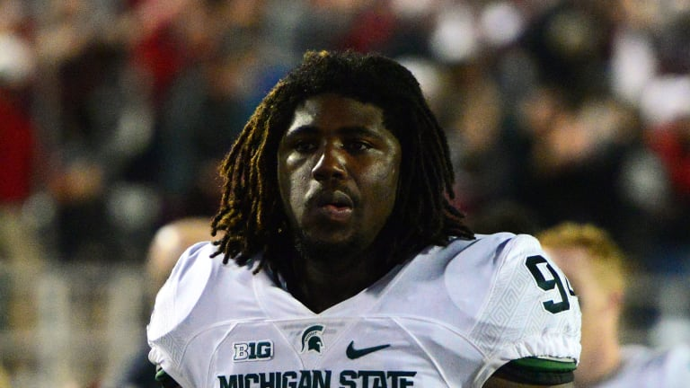 Ex-Michigan State DE Auston Robertson Sentenced up to 10 years in Prison for Sexual Assault