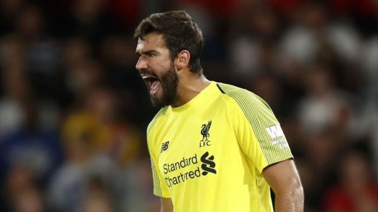 Alisson Warns Liverpool Fans With Heart Problems Over His 'Calculated' Risks
