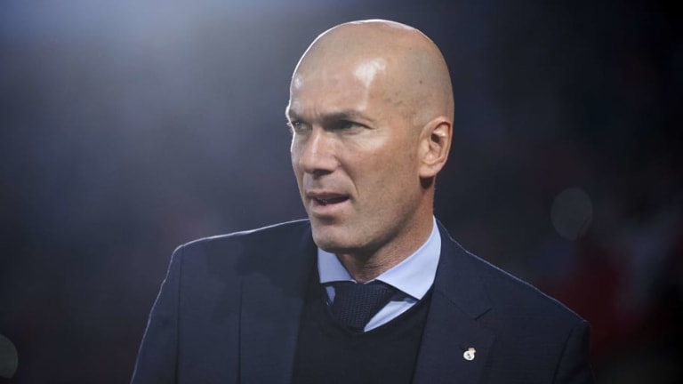 Real Madrid's Zinedine Zidane in Line to Become Next France Manager If World Cup Challenge Falters