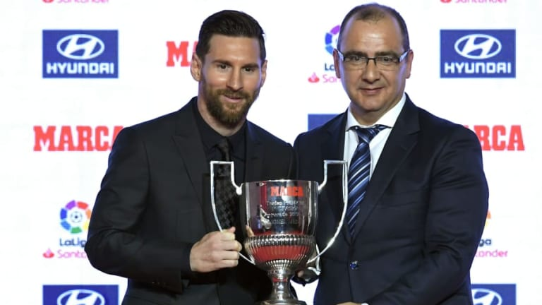 Lionel Messi Discusses Return From Injury as He Picks Up Pair of Awards at La Liga Ceremony