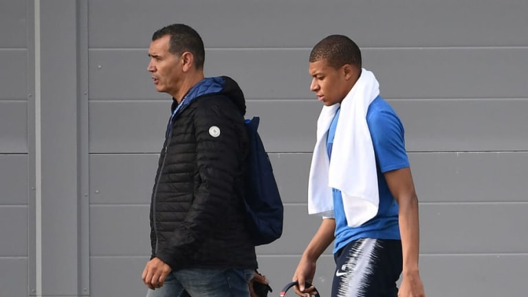 'Nothing Serious': French Star Kylian Mbappé Gives Fans Update Following Injury Scare