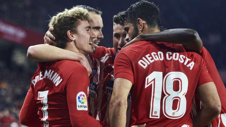 El 1x1 de los jugadores rojiblancos en la goleada del Atlético frente al Sevilla (2-5)
