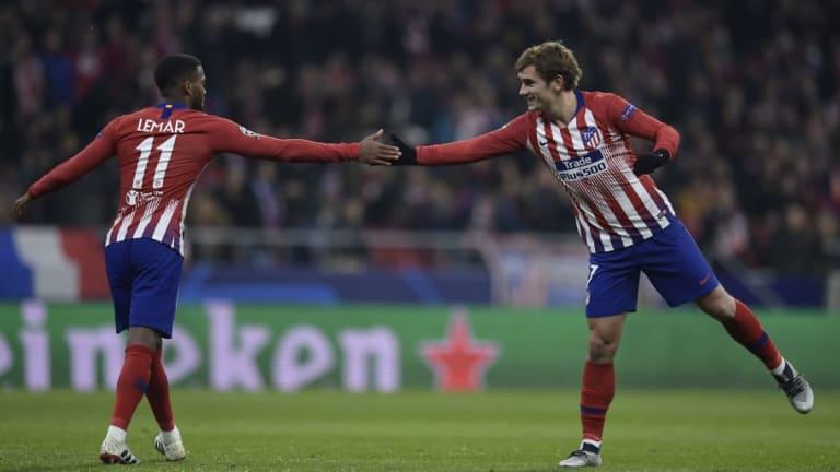 El Atlético se pone en ventaja ante el Mónaco con goles de Griezmann y Jemerson en contra (2-0)