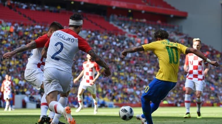 CRACK   Neymar volvió después de tres meses y le marcó este golazo a Croacia