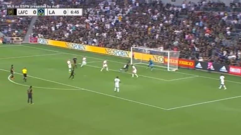 CALIDAD PURA: El golazo de Carlos Vela para LAFC ante el Galaxy en el Clásico de Los Angeles