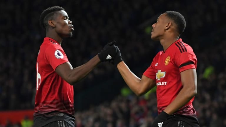 Man Utd 2-1 Everton: Report, Ratings & Reaction as Martial Earns Crucial Win for Red Devils