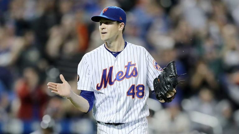 Jacob deGrom Blanks Braves to Bolster Cy Young Case; Records 1,000th Career Strikeout