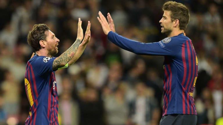 La foto que demuestra que entre Piqué y Messi no hay problemas