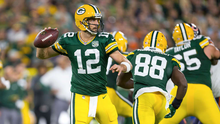 Analyzing How Aaron Rodgers Played on One Leg—and Became Unstoppable