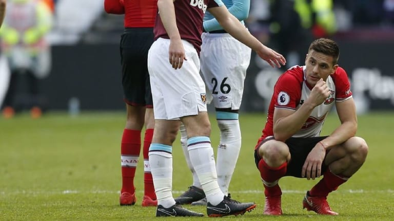 Dusan Tadic Admits 'Shame' as Saints Fall Apart Against West Ham in Relegation Clash