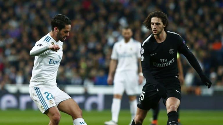 El mal momento de Isco en el Real Madrid podría cercar a Rabiot al FC Barcelona