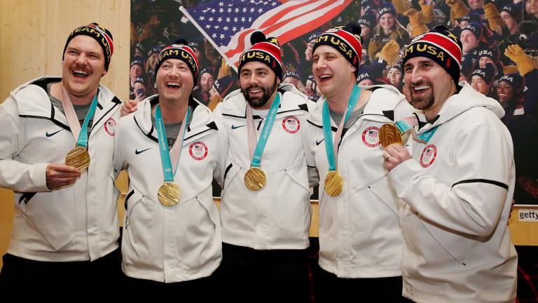 How an Improbable Gold Medal at the 2018 Olympics Changed the Lives of the U.S. Men's Curling Team
