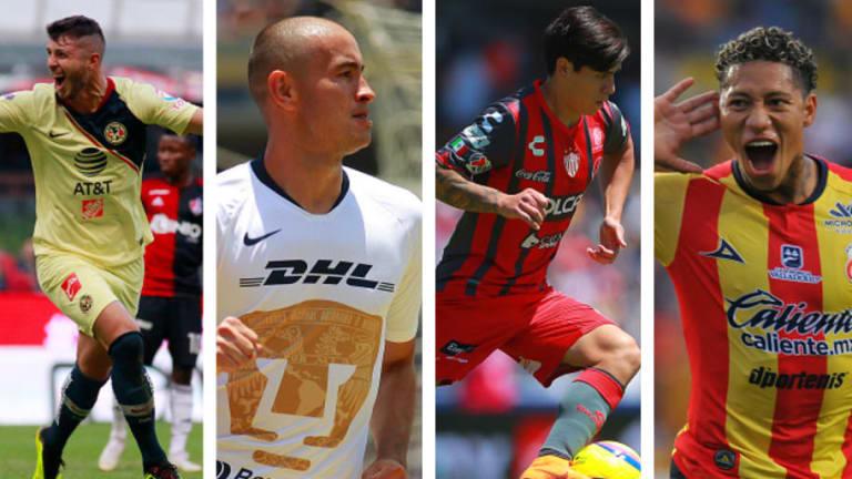 ¡TREMENDO EQUIPAZO! | El XI ideal de la jornada 2 del Apertura 2018