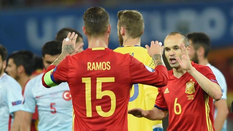 Las palabras de Ramos sobre Iniesta y su no Balón de Oro