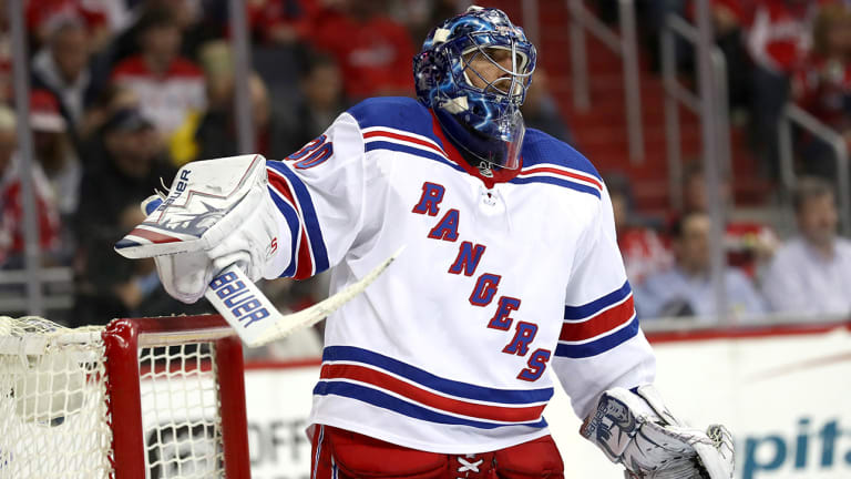 Henrik Lundqvist Happy to Be Part of Rangers' Rebuilding