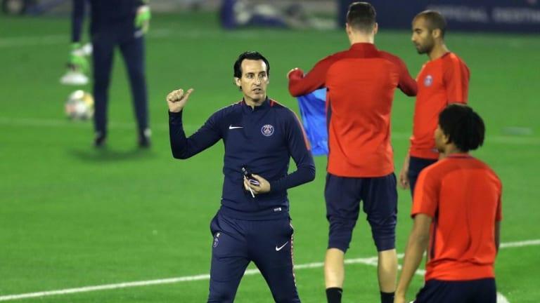 Las tres dudas de Emery para confeccionar el once que se enfrentará al Real Madrid