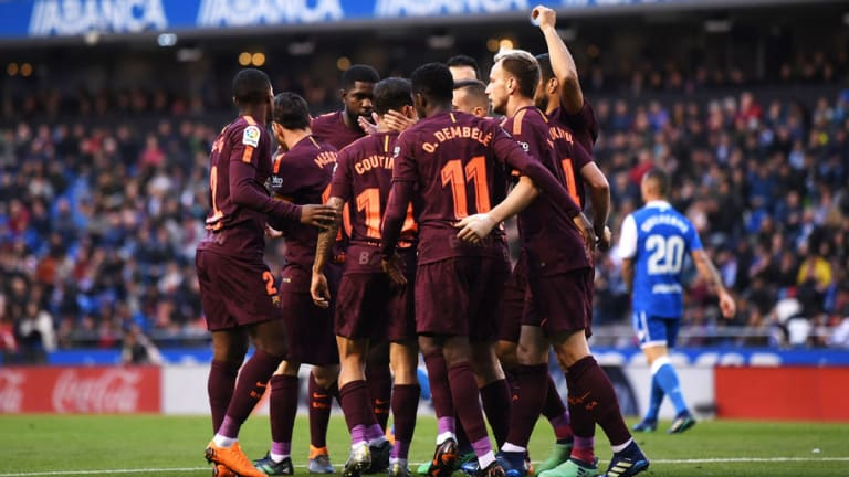 Barcelona Clinch 25th La Liga Title Without Losing a Single Game