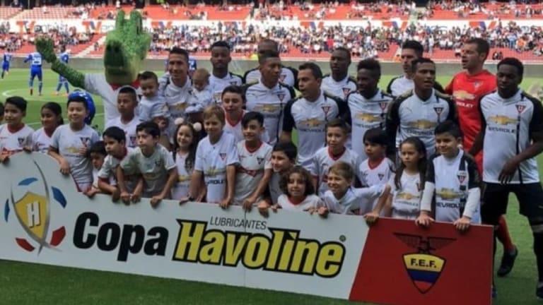 ATENCIÓN   Malas noticias para LDU para el partido de Copa Sudamerican