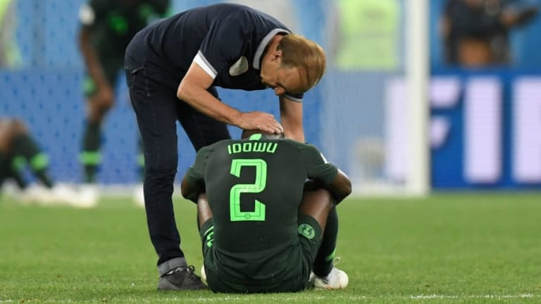 Nigeria Boss Gernot Rohr 'Proud' After Late Argentina Strike Eliminates Courageous Super Eagles