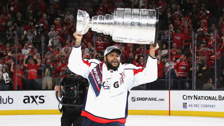 Capitals Re-Sign Devante Smith-Pelly to One-Year Deal