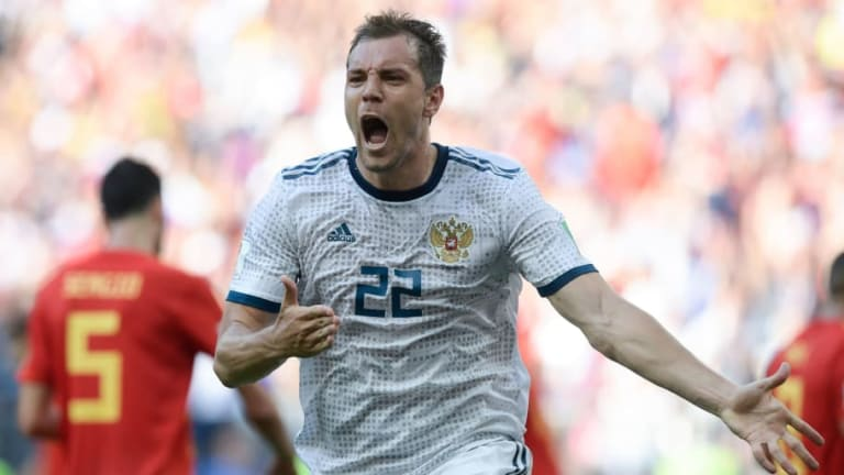 Spain 1-1 Russia (3-4 Pens): Hosts Shock La Roja on Penalties After Dogged Defensive Display