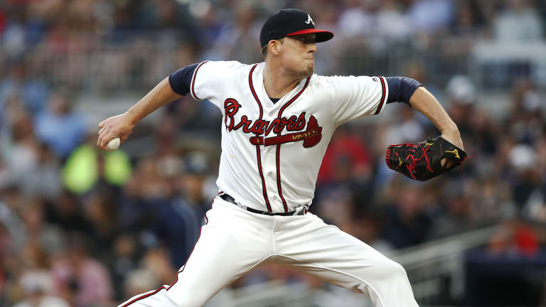With Violent Elbow Injuries Behind Him, Braves Reliever Dan Winkler Is Pitching Like an All-Star
