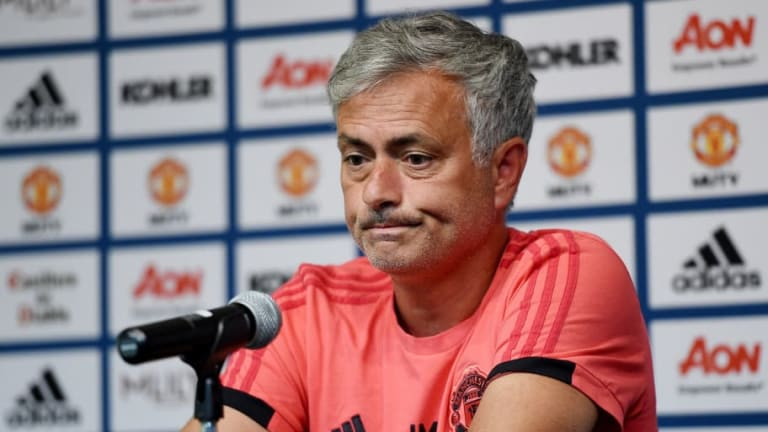 Jose Mourinho Moans Man Utd are Disadvantaged Because Players are Still Not Back From the World Cup