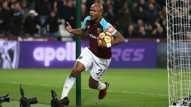 André Ayew's Latest Performance Stirs Anger Amongst West Ham Fans as He Nears Exit