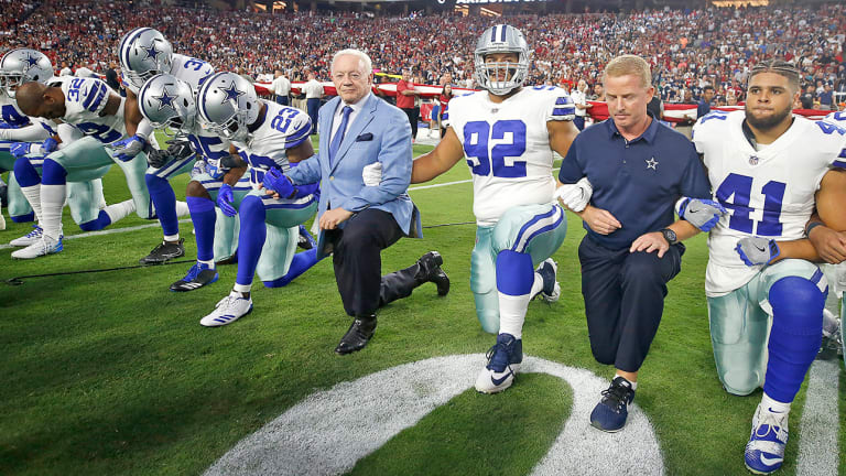 Oral History: The Night Jerry Jones Knelt