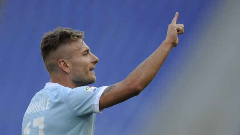 AC Milan Eye Move for Prolific Lazio Striker After Meeting With Agent