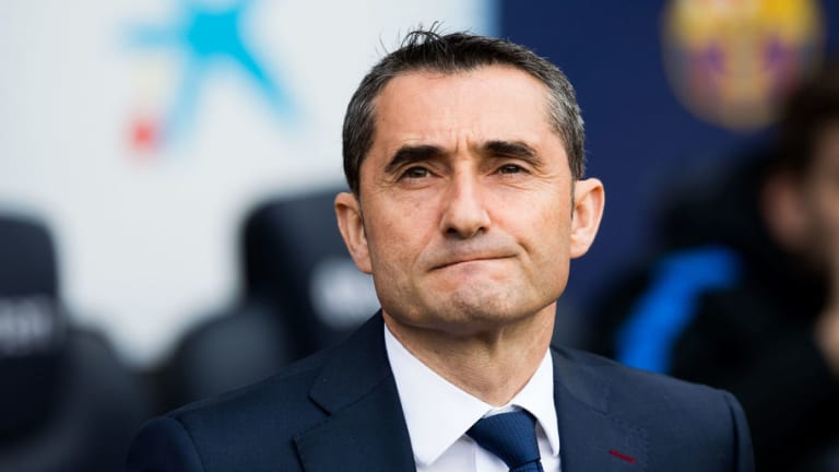 Ernesto Valverde Claims His Barcelona Side Had to 'Suffer' in Their 2-0 Win Against Eibar