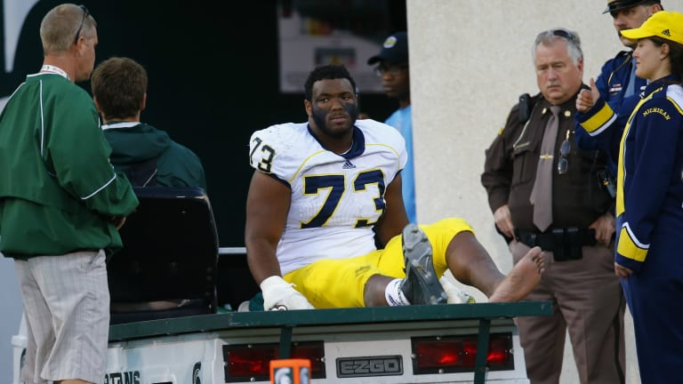 Projected First-Rounder Maurice Hurst Jr. Diagnosed With Heart Condition Combine