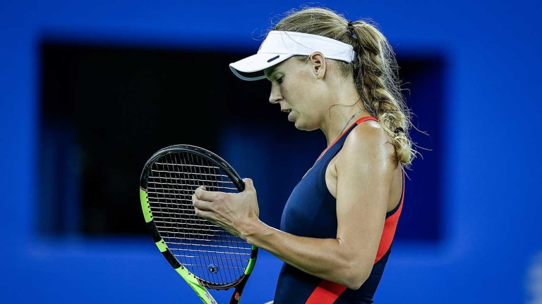 Caroline Wozniacki and Angelique Kerber Lose in Third Round of Wuhan Open