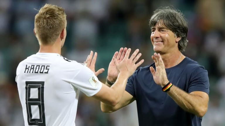 Joachim Low Praises His Germany Side for Keeping a 'Level Head' During Dramatic 2-1 Win Over Sweden