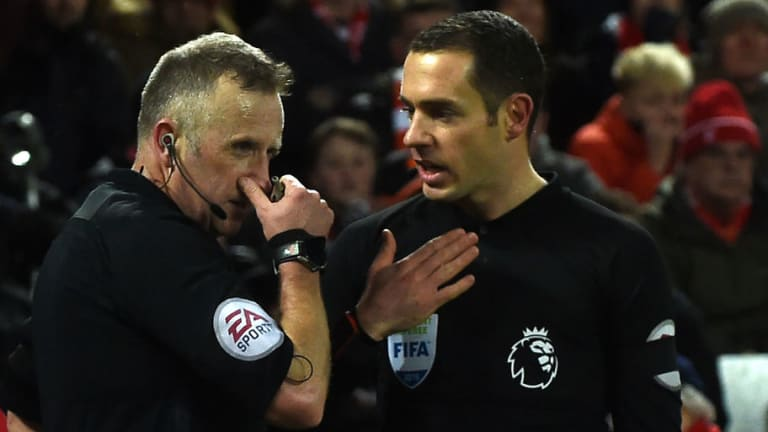 Assistant Eddie Smart Faultless in Helping  Referee Jon Moss with Tottenham Penalty Decisions
