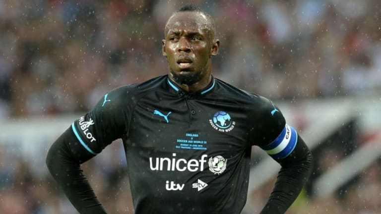 Sprint Legend Usain Bolt Inches Closer to Professional Football Career With Reported A-League Deal
