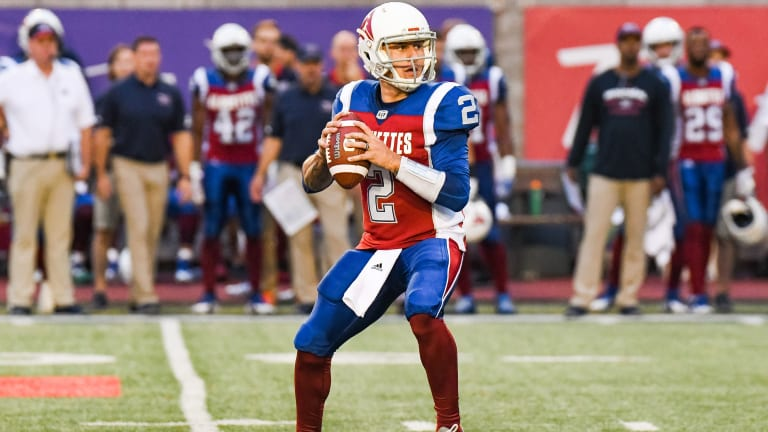 Johnny Manziel Throws Four Interceptions in First CFL Start, Alouettes Lose 50-11