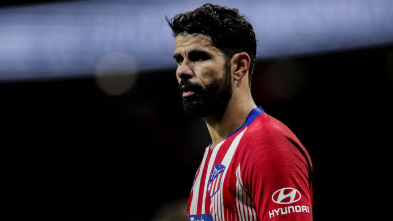 Atletico Madrid Consider Surgery for Diego Costa in Order to Fix Recent Foot Injury