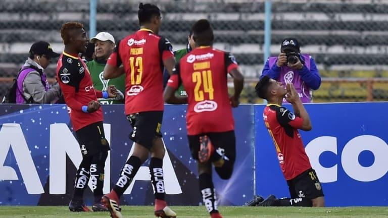 TRAGO AMARGO | Deportivo Cuenca lo ganaba y se dejó empatar