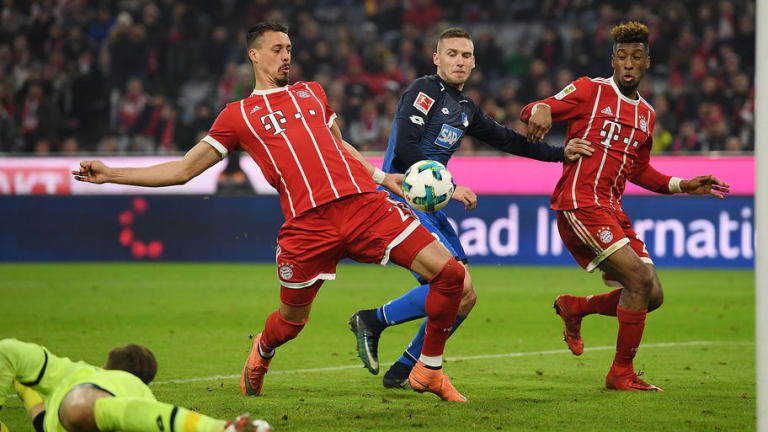 Sandro Wagner Cock-a-Hoop After Opening Bayern Scoring Account With Massive 'Penis Goal' in 5-2 Win