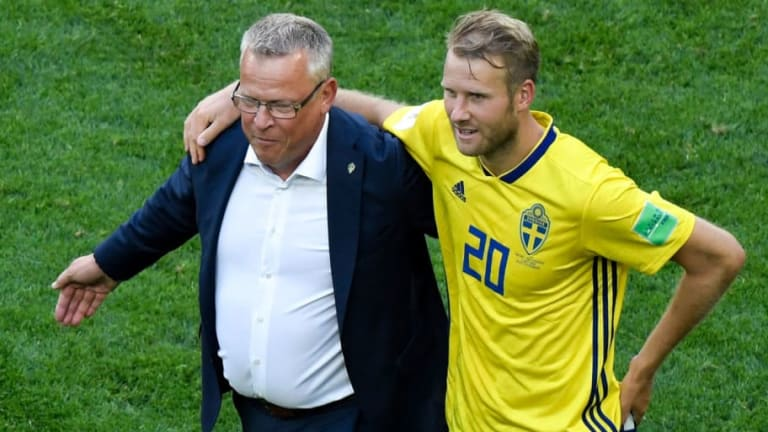 'We're Not Satisfied': Sweden Manager Focuses on 'Next Step' After WC Last 16 Win Over Switzerland