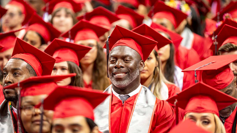 Anthony Lynn Gets his Degree for his Players, for his Family and for Himself