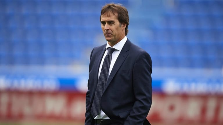 Julen Lopetegui's Real Madrid Future Hanging By a Thread Ahead of Monday Meeting