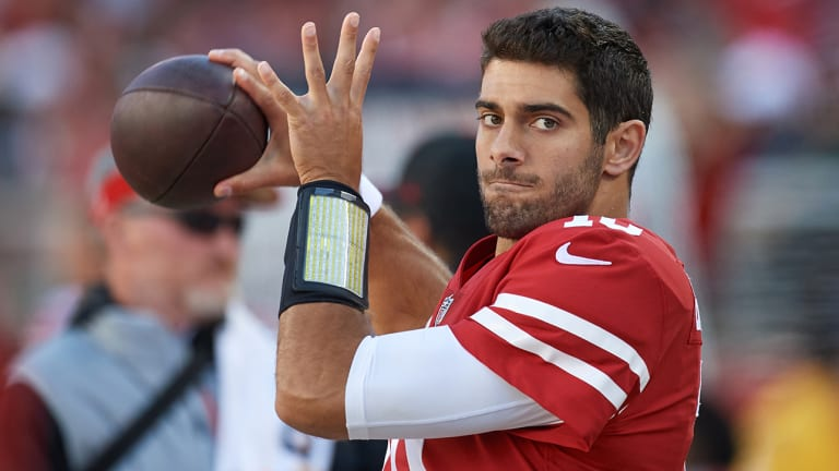 Traina Thoughts: Jimmy Garoppolo Takes Adult Film Star on Date and Doesn't Care Who Knows It
