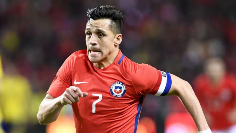 El récord que consiguió Alexis Sánchez con Chile en el duelo contra Suecia