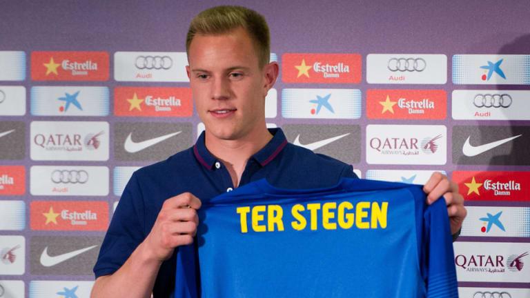 Los futbolistas que más ayudaron a Ter Stegen cuando llegó al FC Barcelona