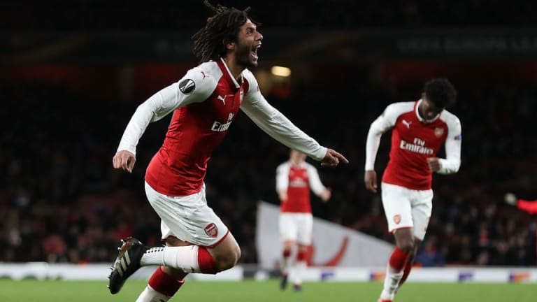 Arsenal's Mohamed Elneny Joins Francis Coquelin on West Ham Wishlist as Moyes Prepares Moves