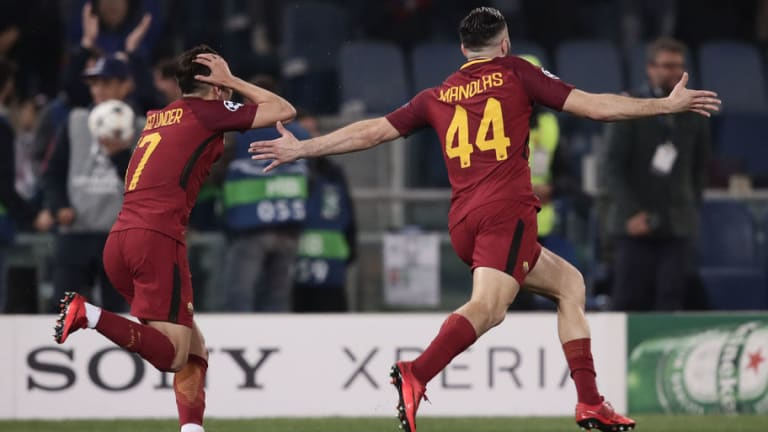 Twitter Melts Down as Liverpool Beat City & Roma Shock the World by Dumping Barcelona Out of UCL