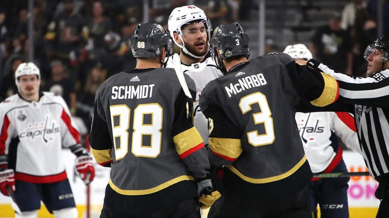 Stanley Cup Final: Wilson, Marchessault Have Differing Opinions on Game 1 Hit